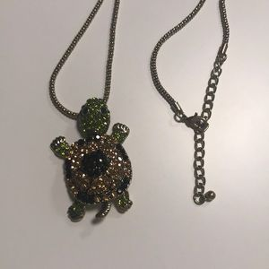 "JVT ""Off Park Collection"" Turtle Pendant Necklace"